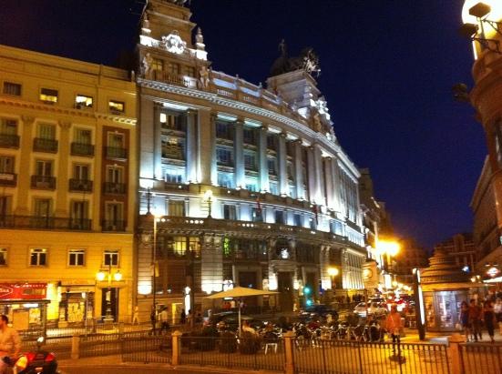 Esquina calle Alcalá y Gran Vía, Madrid